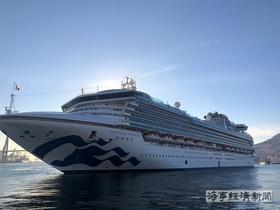 2019년 국내 첫 크루즈 선박 부산항 입항